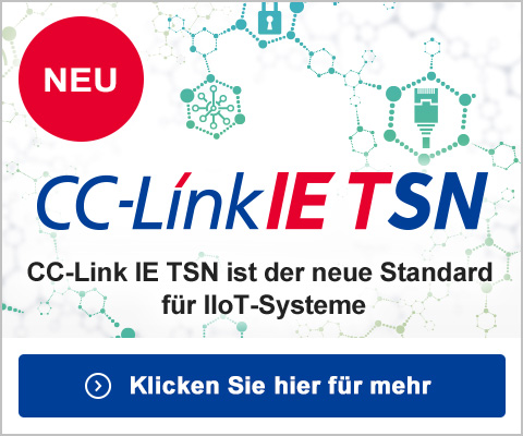 NEW CC-LinkIE TSN CC-Link IE TSN is the new standard for IIoT
